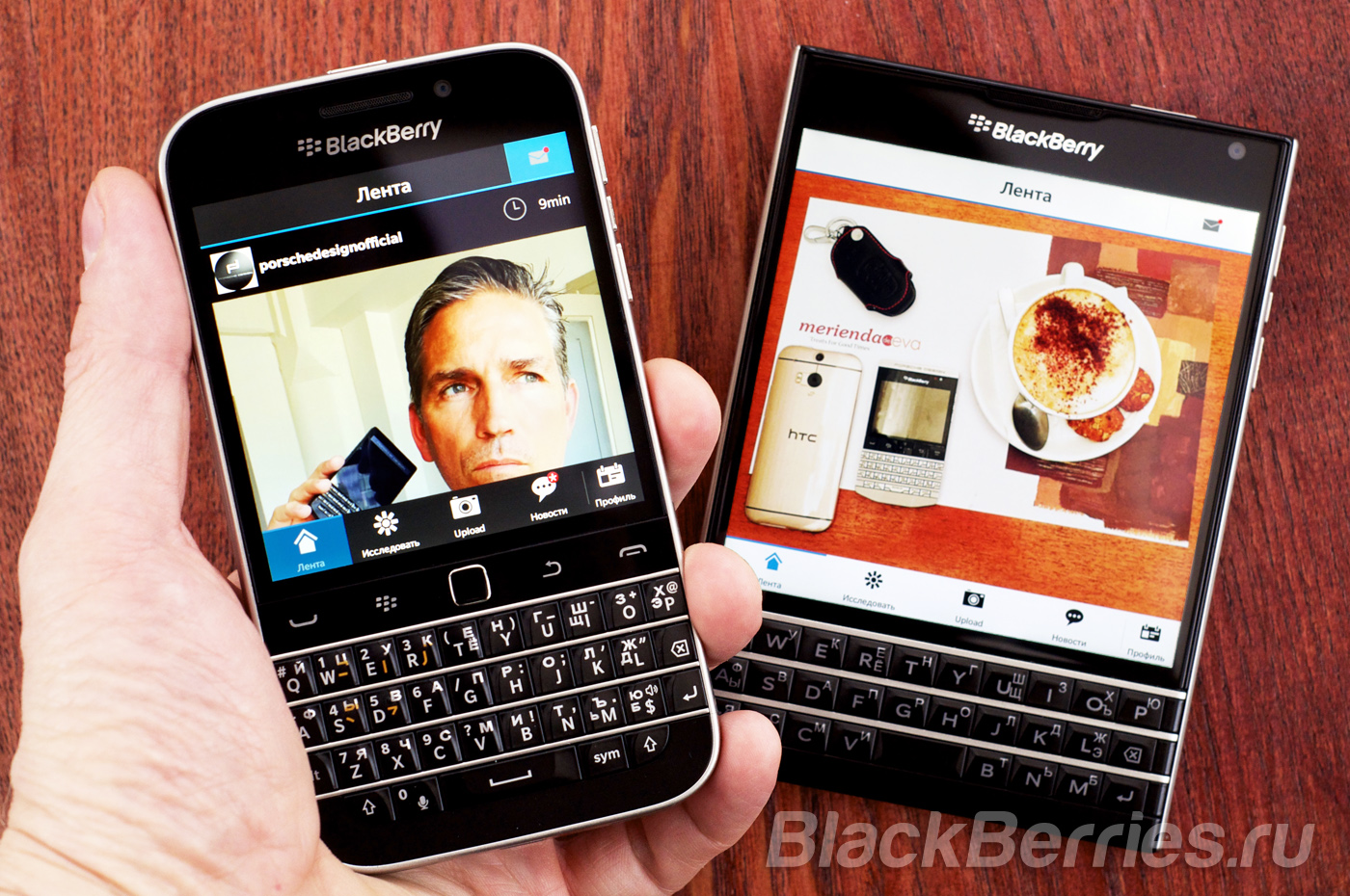 Instagram для BlackBerry Passport | BlackBerry Passport