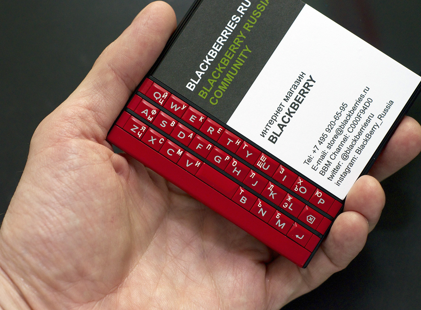 BlackBerry Passport Red купить