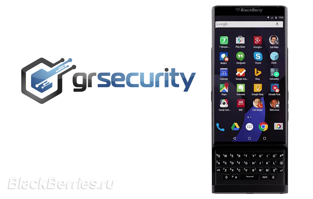 BlackBerry-Venice-Grsecurity